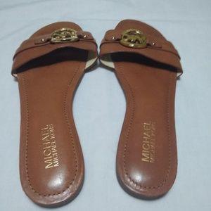 Michael Kors Shoes - Michael Kors Leather Sandals